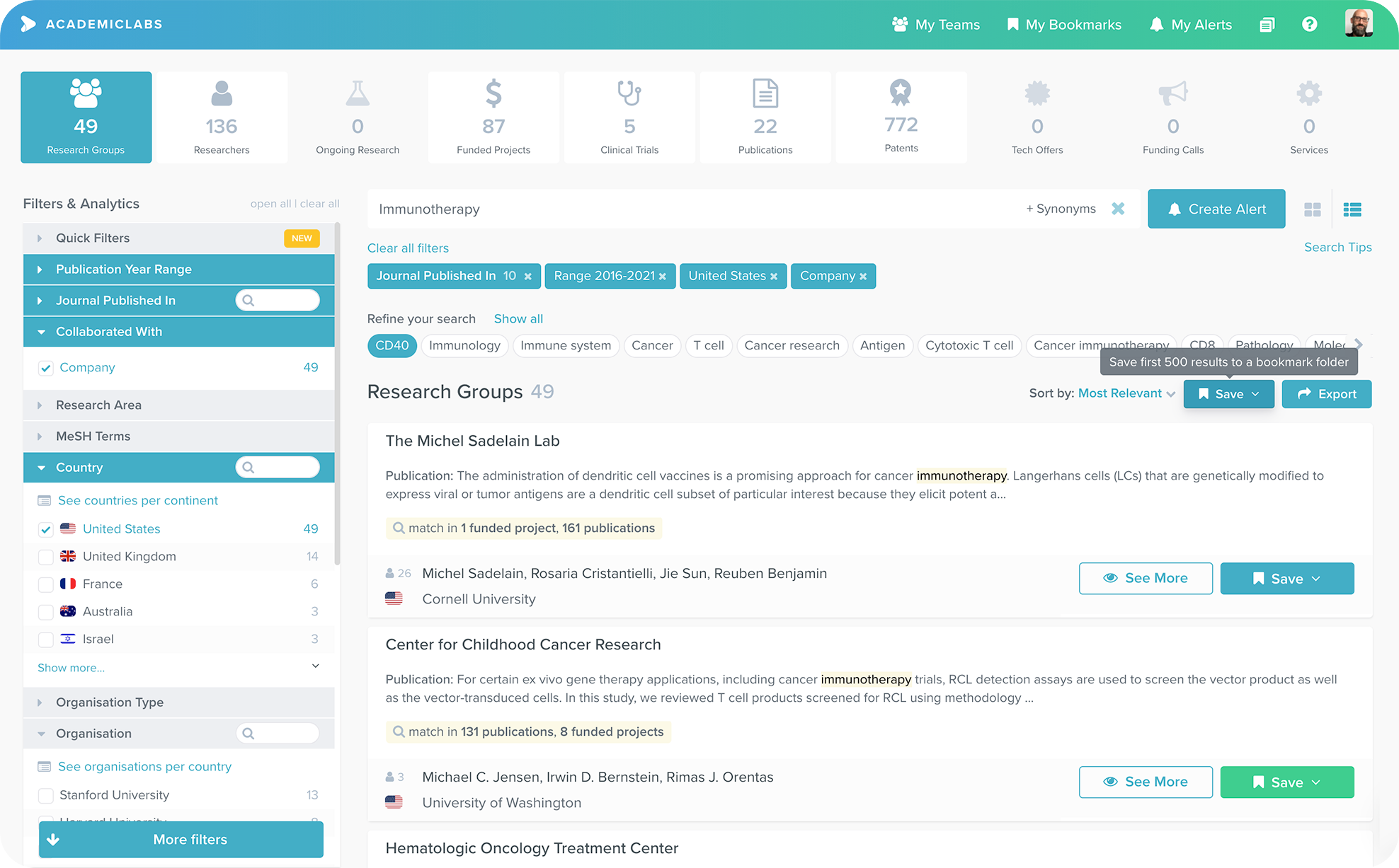 Connect With Context in AcademicLabs
