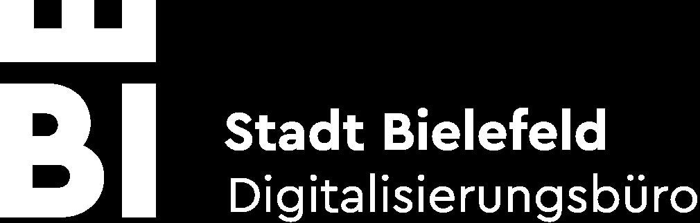 Logo des Digitaliserungsbüros in weiß