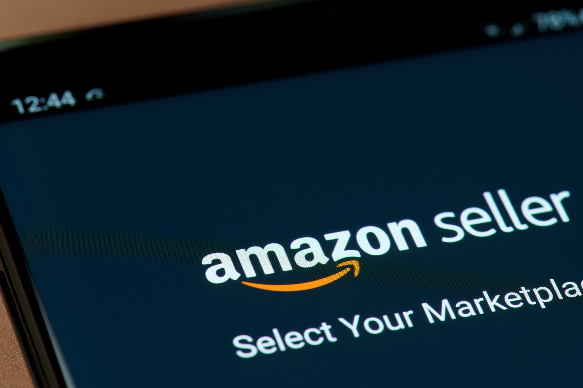 A screenshot of the Amazon Seller page that FBA business owners start their business on