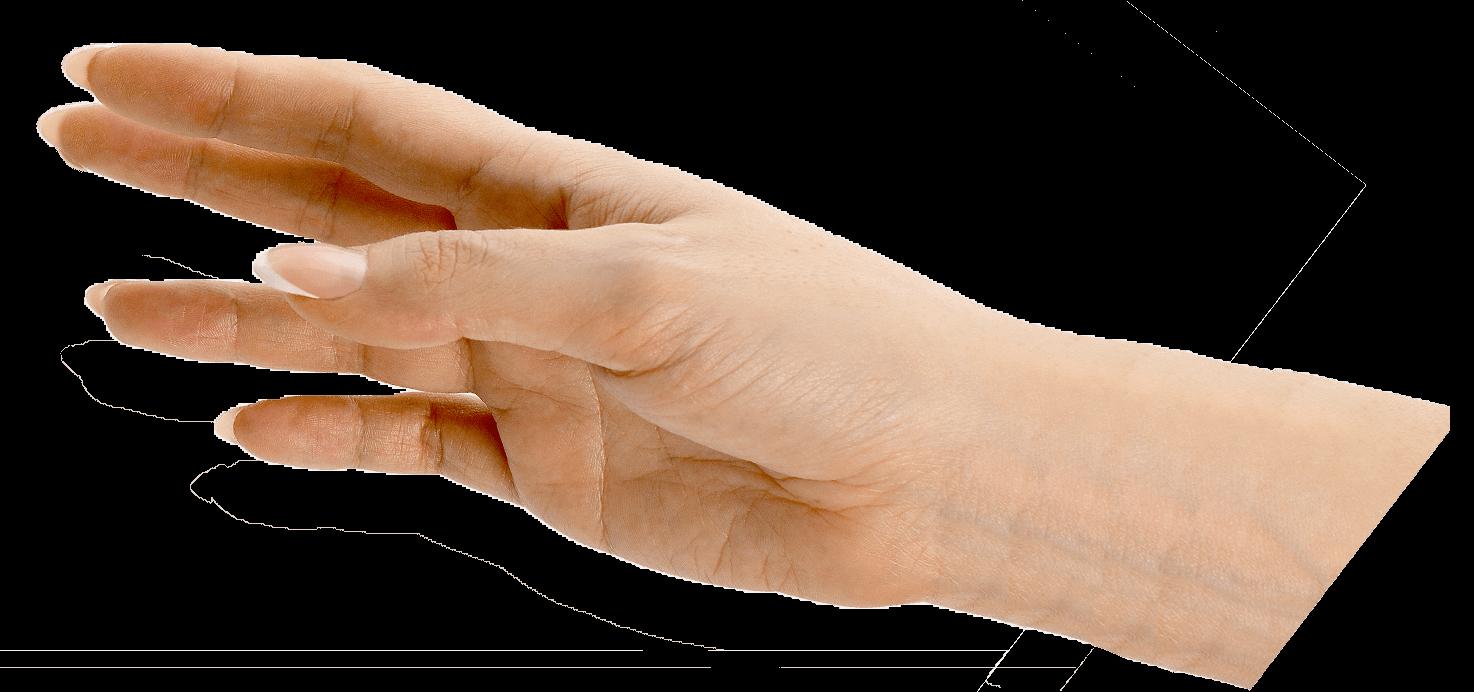 Hand ontvangt wellness overnachtings cadeau.