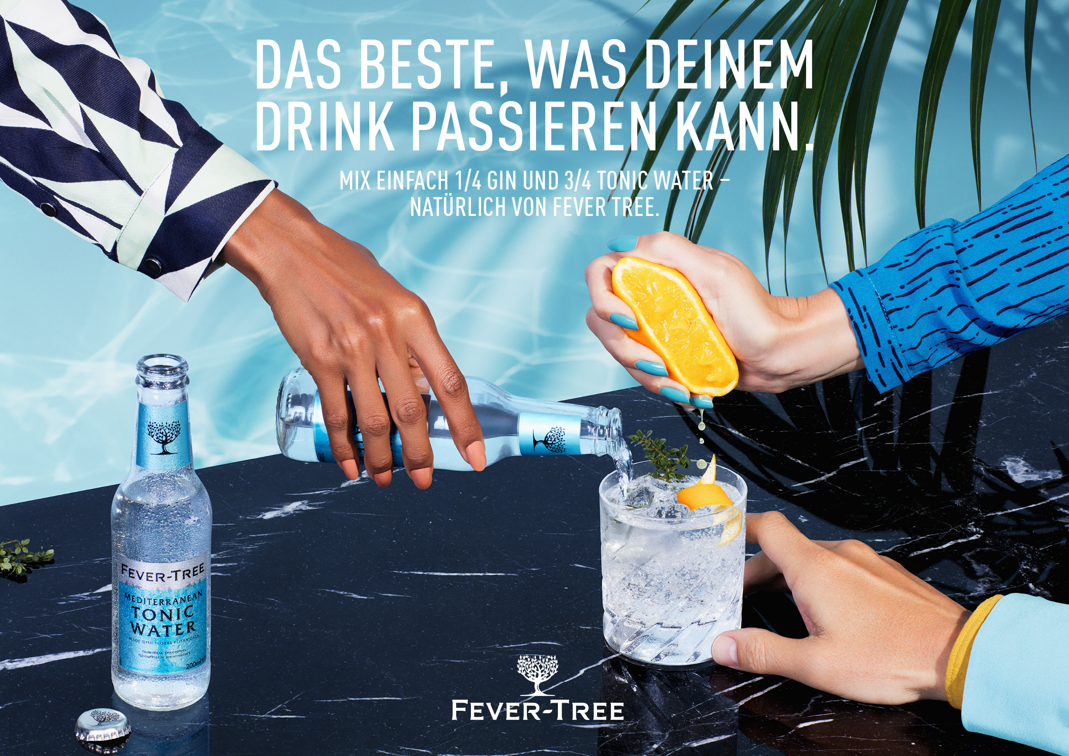 Fever-Tree. Campaign image.
