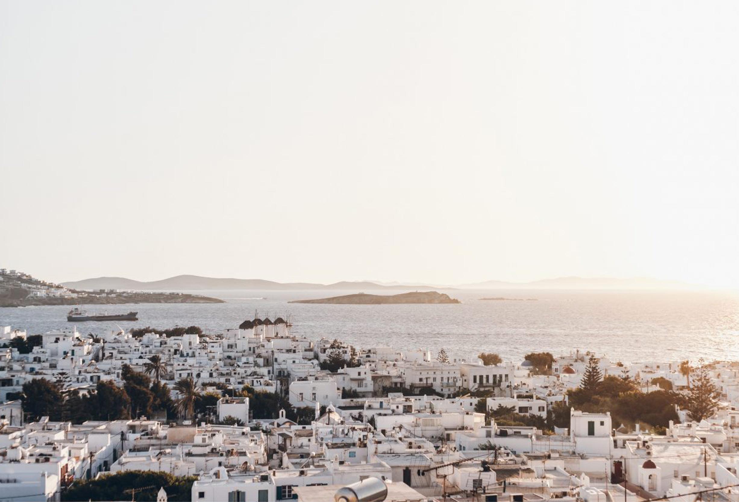 landscape mykonos island architecture greek culture Cycladic heritage
