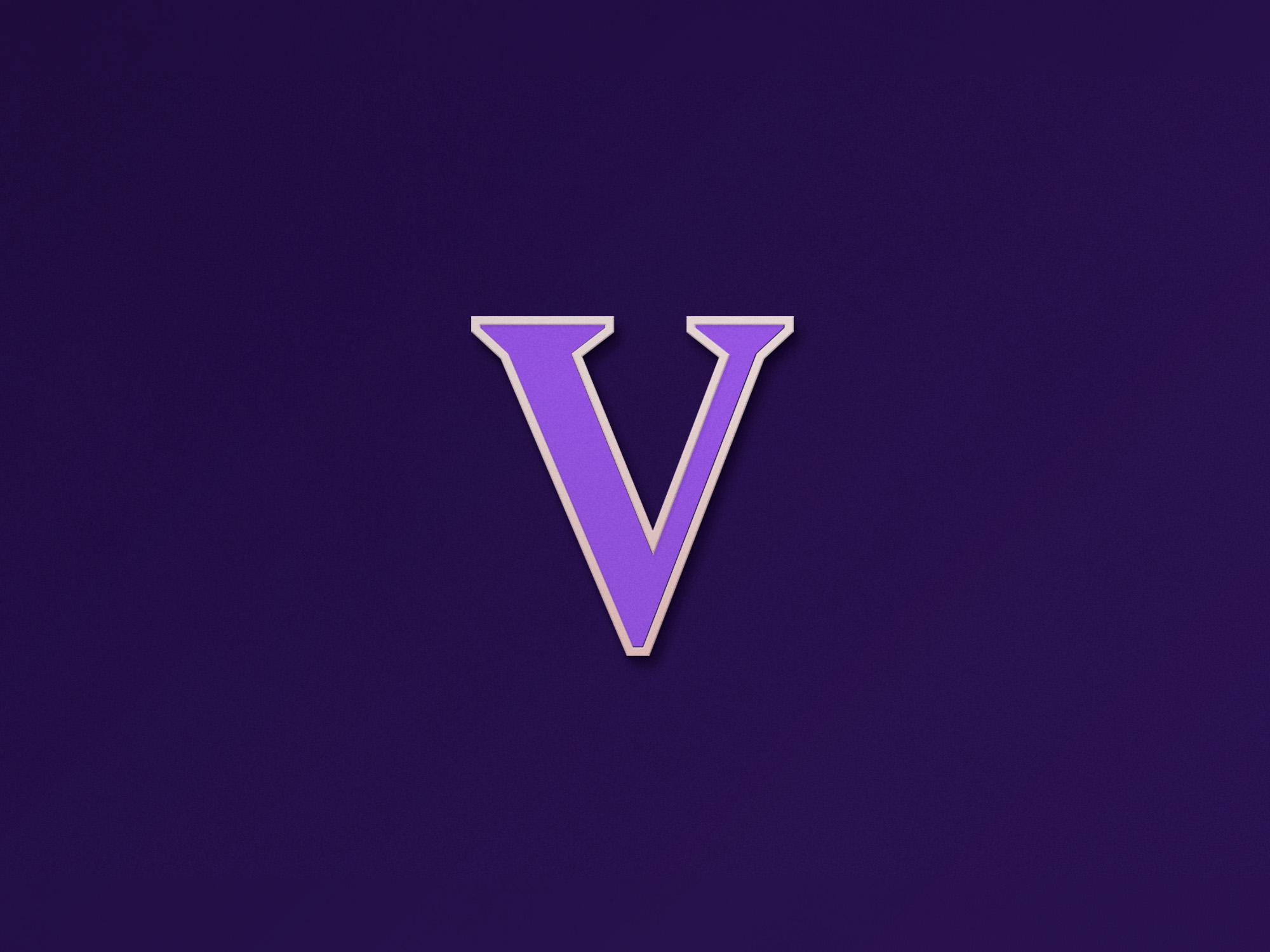 The Vor branding and web design pin design