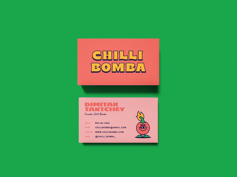 Chilli Bomba Business Card
