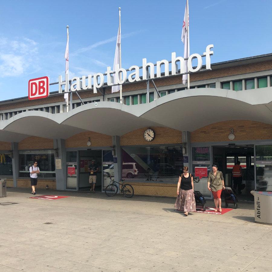 Zukunftsbahnhof Foto