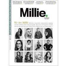 Millie magazine front cover image