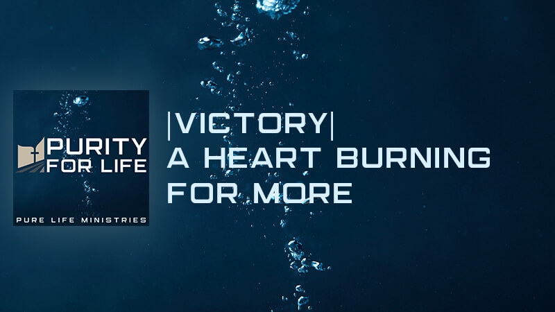 Purity for Life Episode #436: |Victory| A Heart Burning for More