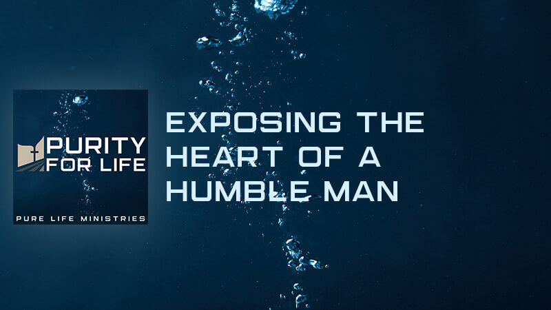 Purity for Life Episode #429: Exposing the Heart of a Humble Man