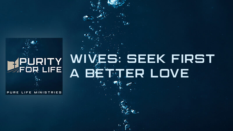 Purity for Life Episode #418: Wives: Seek First a Better Love