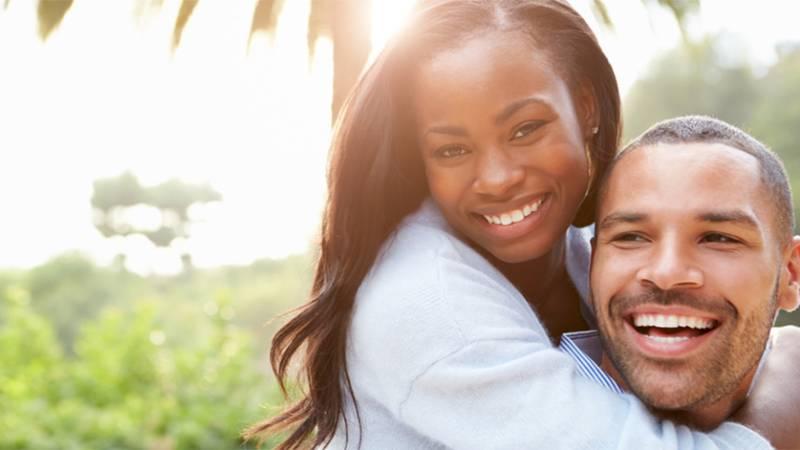 happy restored couple