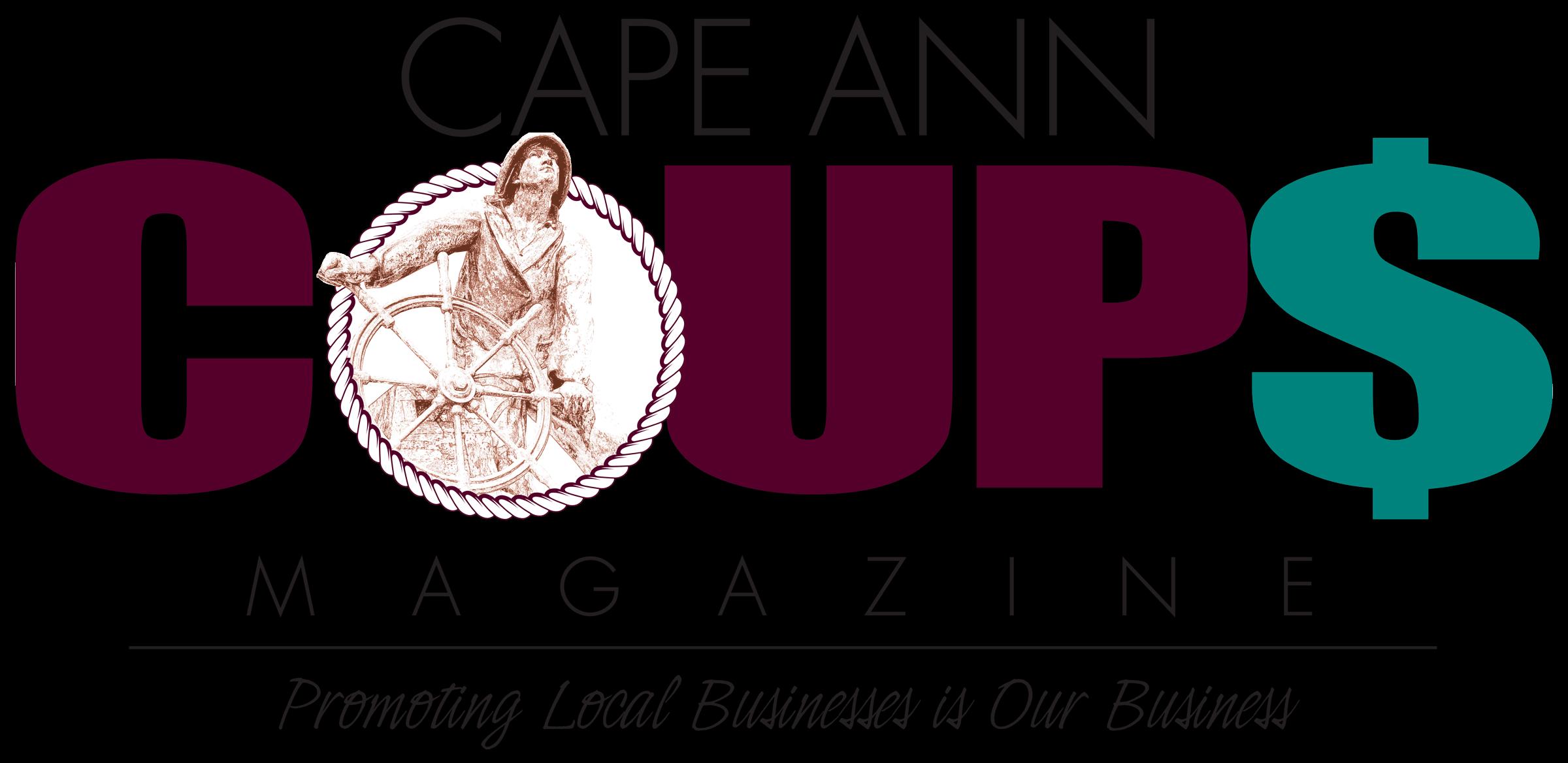Cape Ann Coups Magazine Logo