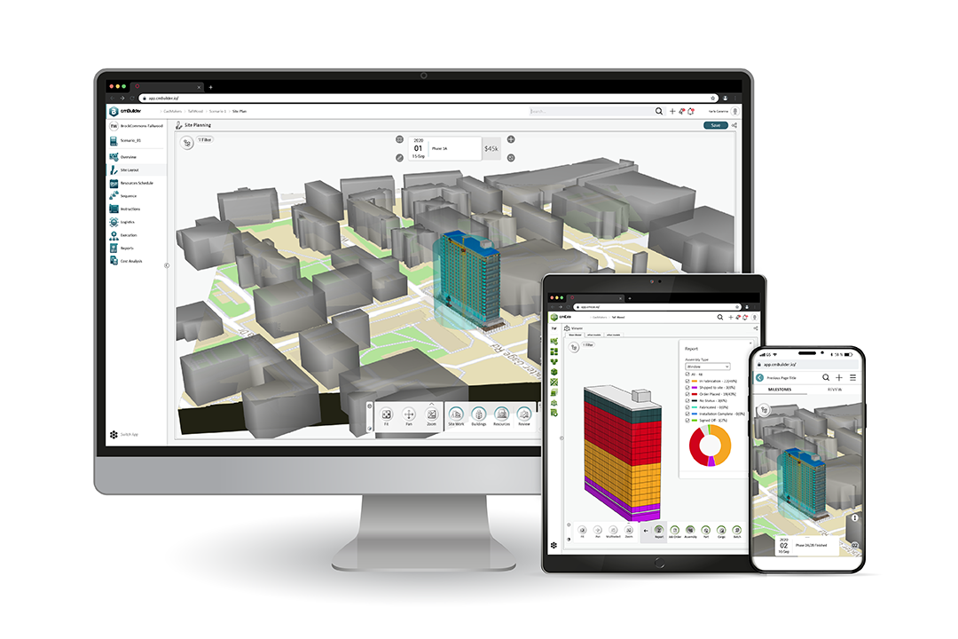 """Sharing and viewing large, data-rich 3D models from various CAD/BIM software authoring tools has always been a challenge for users in the AEC (Architecture, Engineering & Construction) industry. A lack of interoperable file formats, the need to load models with locally installed software for viewing, and stringent hardware requirements has always held back the ability to scale 3D, 4D and 5D digital delivery in our industry. In the last few years, there has been a strong shift towards developing interoperability standards (.IFC – Industry Foundation Classes, most notably), improving computational power of smart devices, and software vendors providing access to view these models in the web via the cloud.However, most of these solutions are limited in their performance, focused on viewing models and information only, not allowing for editing/authoring new content in the web. They are simply an extension of the """"REAL"""" product – translating to on-premise, expensive, locally installed software licenses that have all the same constraints, including significant costs per user to AEC organizations."""