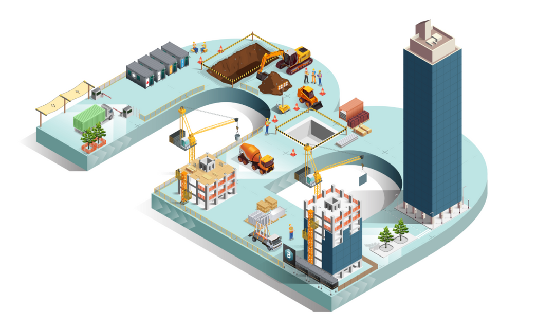 Introducing our newest product, cmBuilder: a web-based platform that makes dynamic construction planning and simulation easier than ever before.