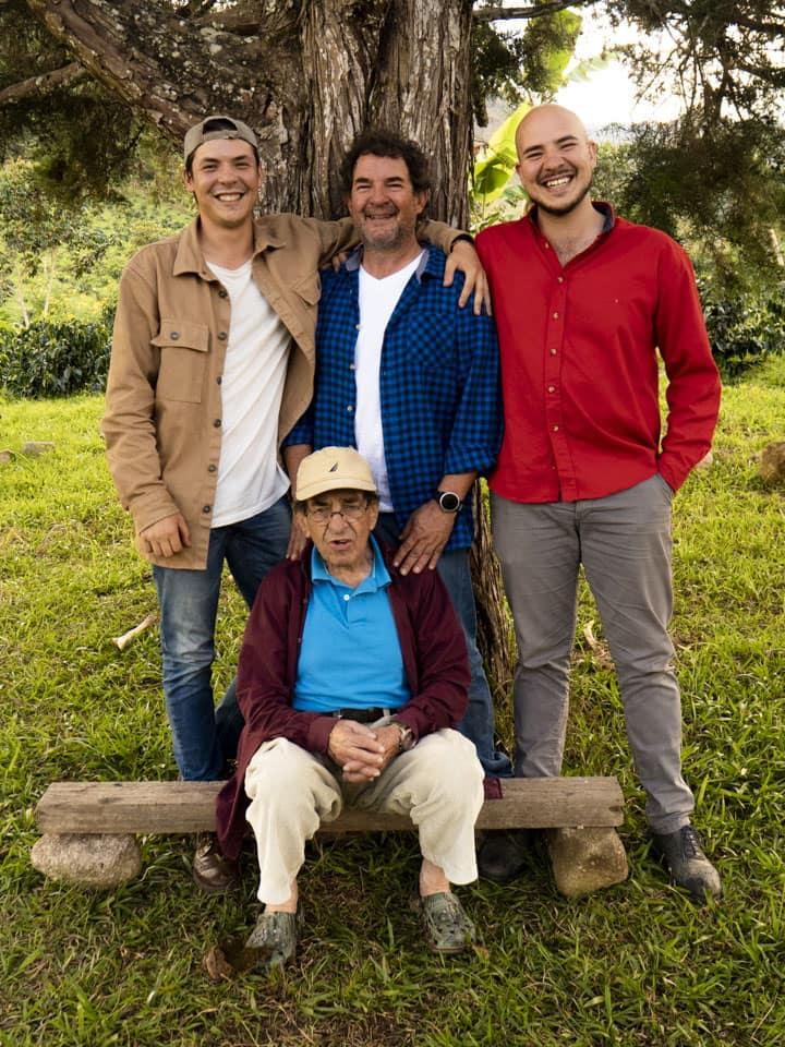 The Lopera Coffee Family