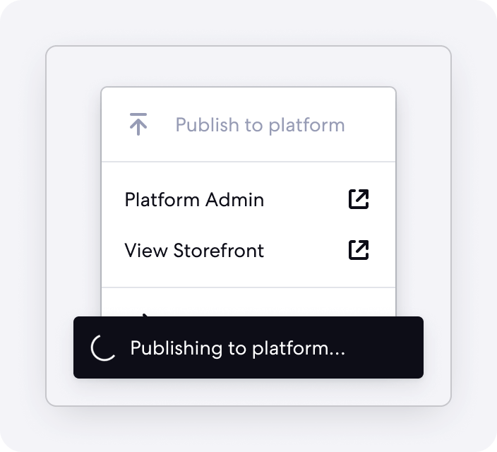 Graphic of Publish Feature