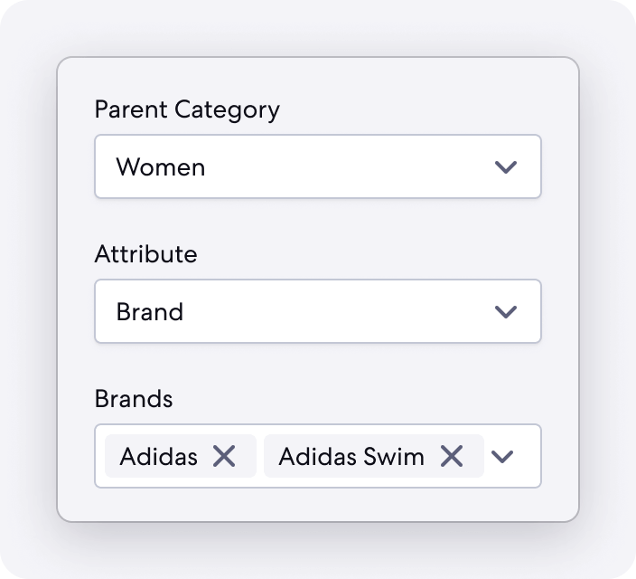Graphic of Customizable Feature