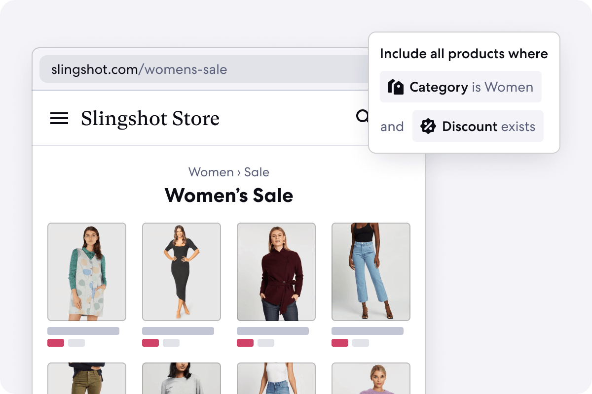 Graphic of Automated Sale Category