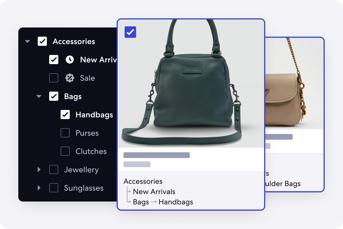 Graphic of Real Time Merchandising Feature for Accessory Stores