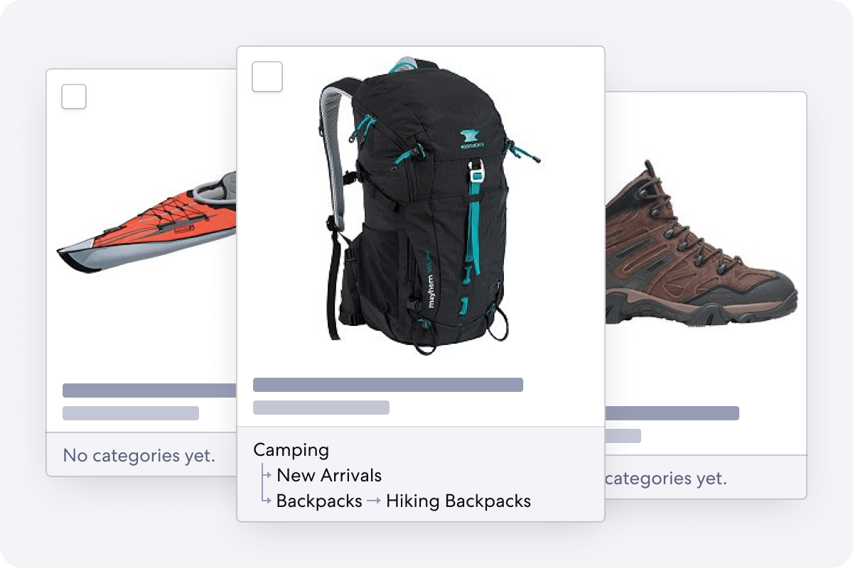 Graphic of Product Inbox for Adventure Stores