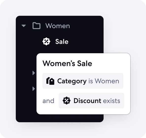 Graphic of Automated Categories Feature