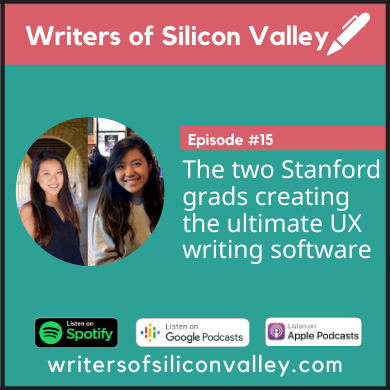 Cover photo of our Writers of Silicon Valley podcast episode