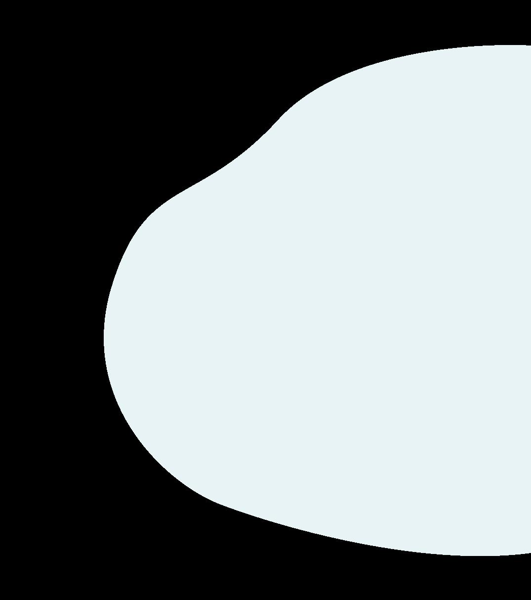 Light blue blob