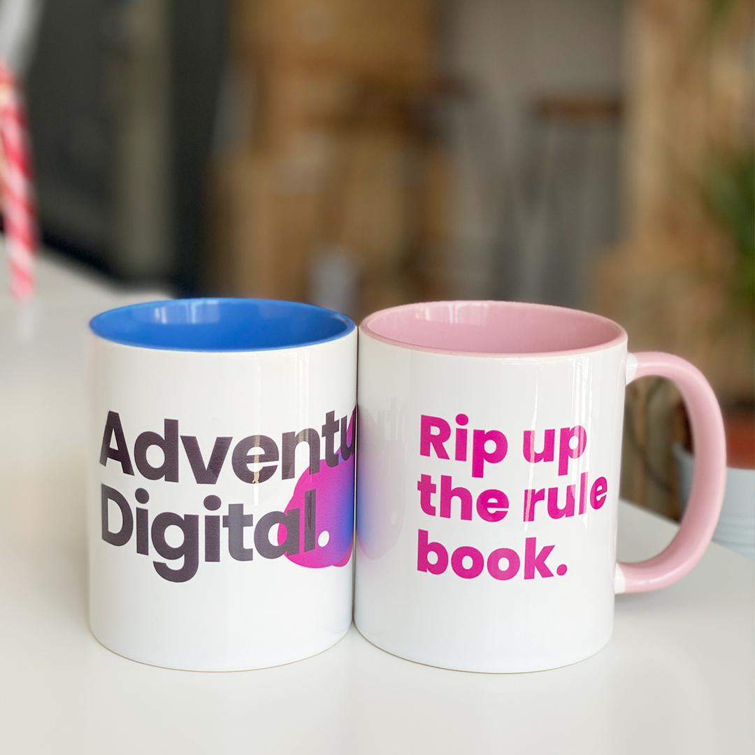 Adventure Digital Marketing Agency Mugs