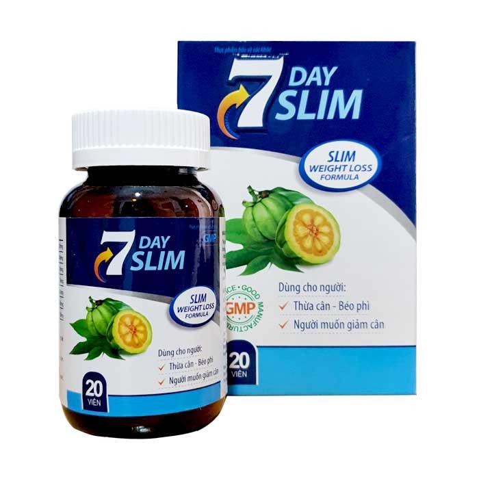 Thuốc giảm cân 7 Day Slim Hộp 20 viên