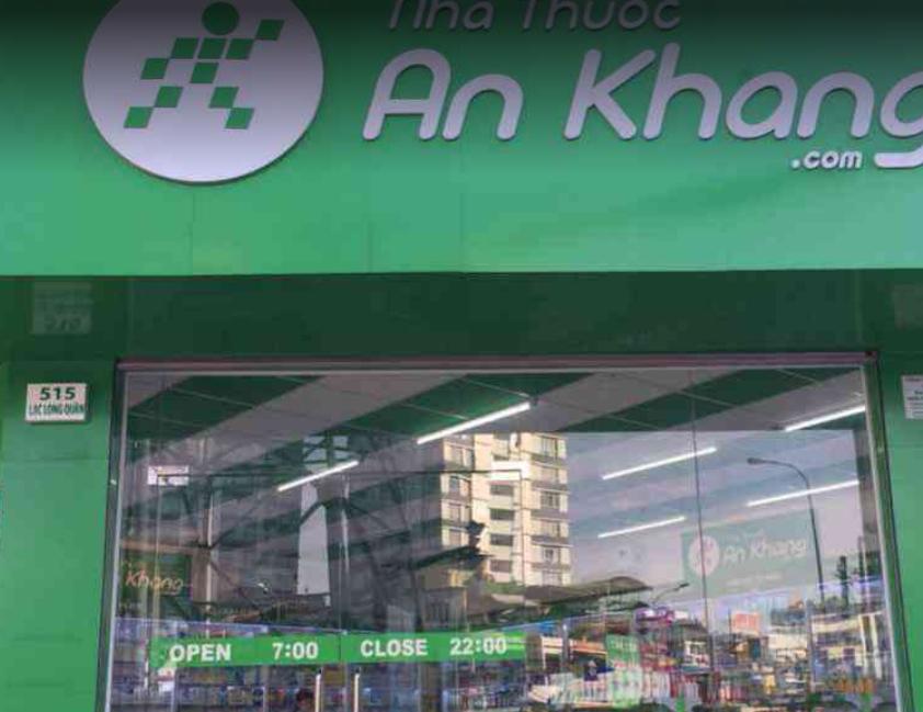 Nhà thuốc An Khang 515 Lạc Long Quân