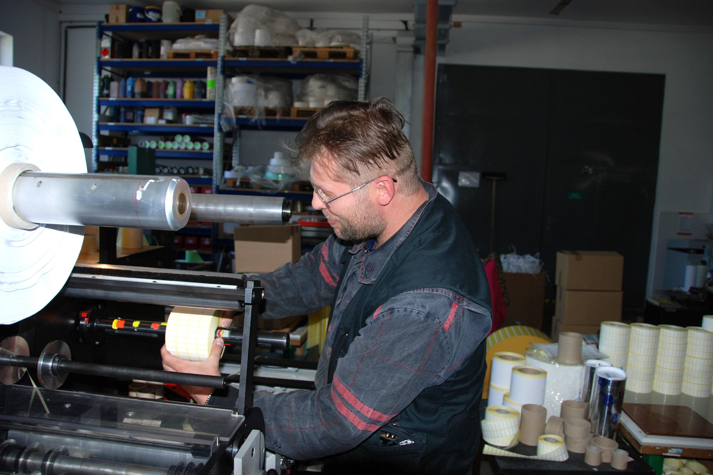 Finální práce ve výrobě kotoučku