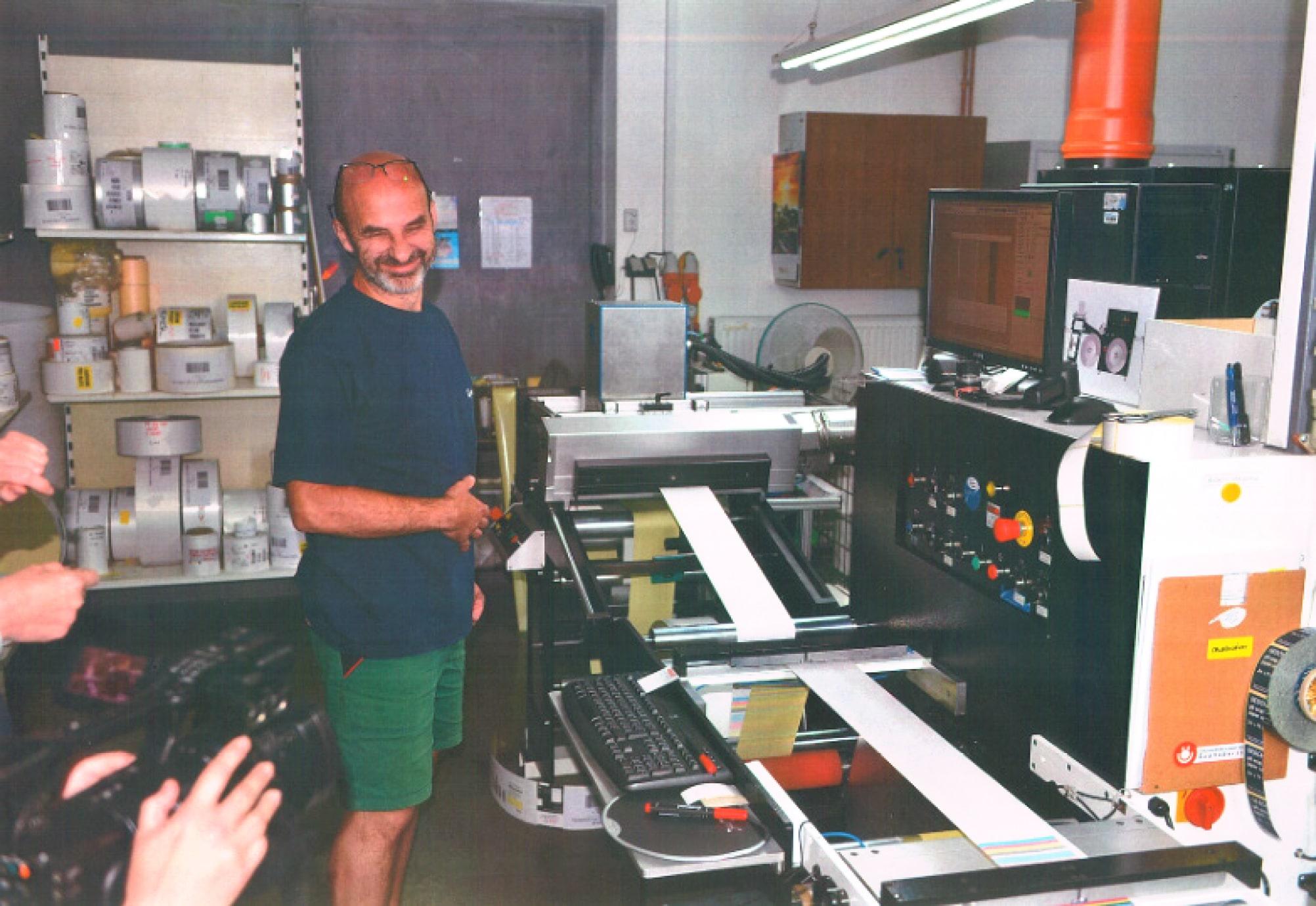 obsluha tiskových strojů