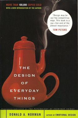 """""""The Design of Everyday Things"""" by Donald A. Norman"""