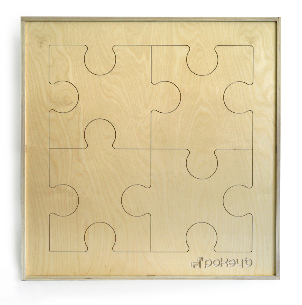 A picture of a pokeyb puzzle board project.
