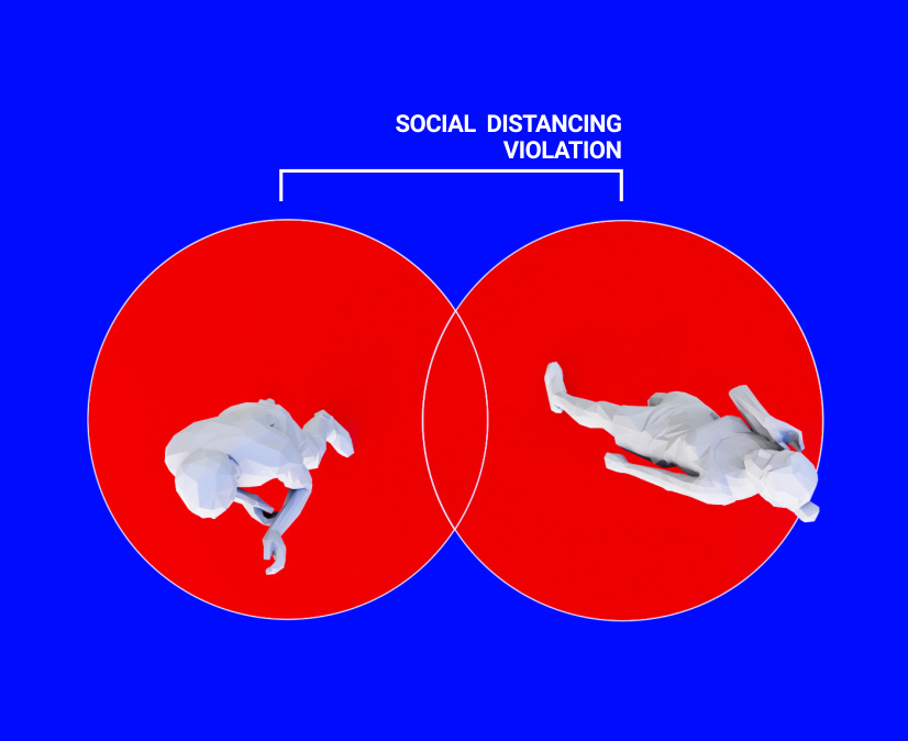 Social distancing violation
