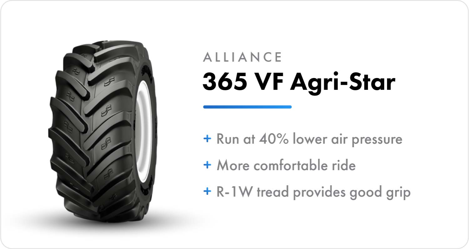 Alliance 365 VF Agri-Star sprayer flotation tire
