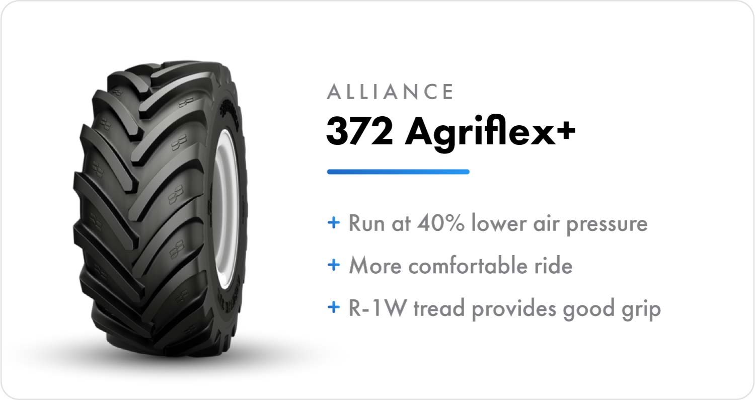 Alliance 372 Agriflex+ sprayer flotation tire