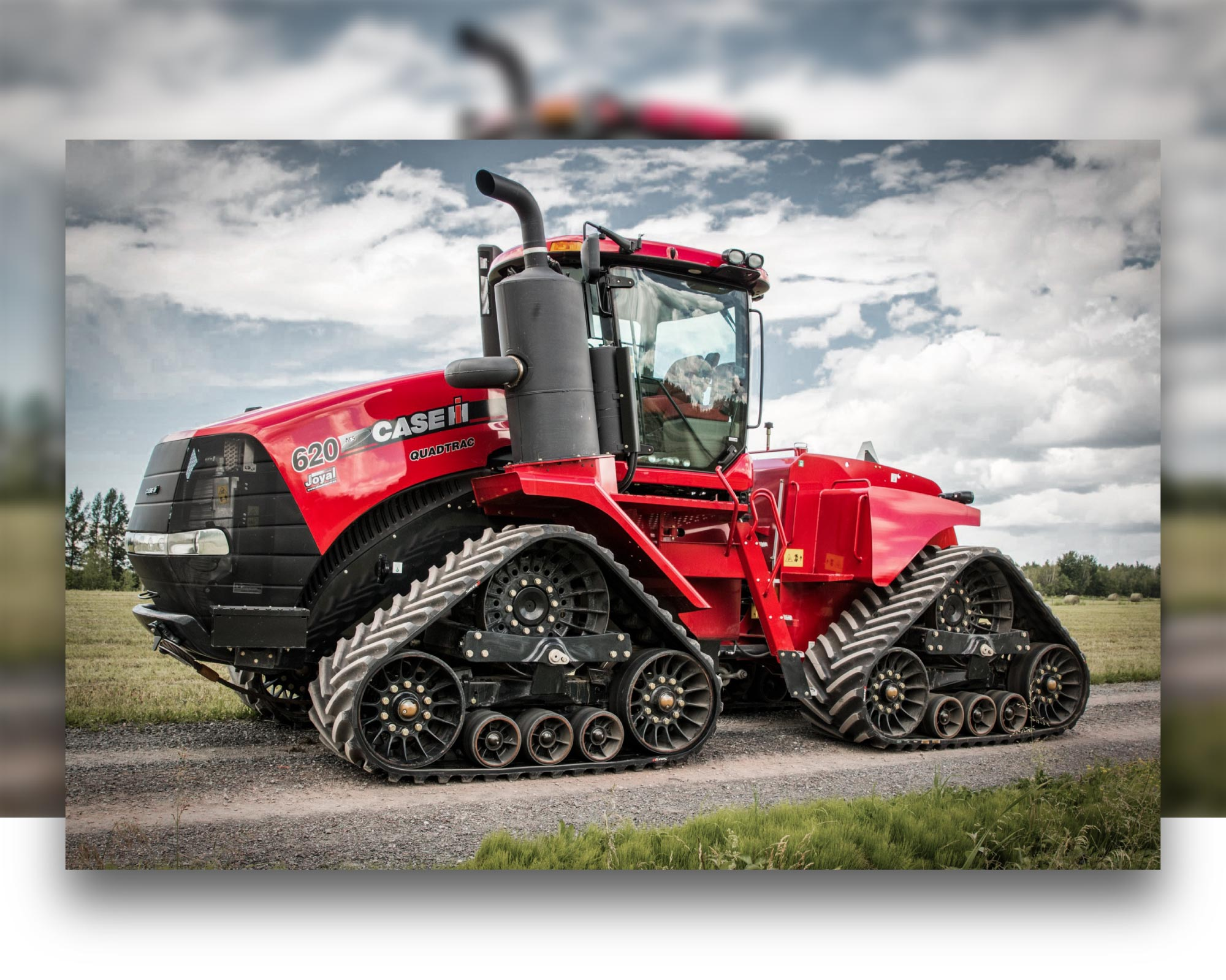 Soucy tracks for Case IH Quadtrac tractor