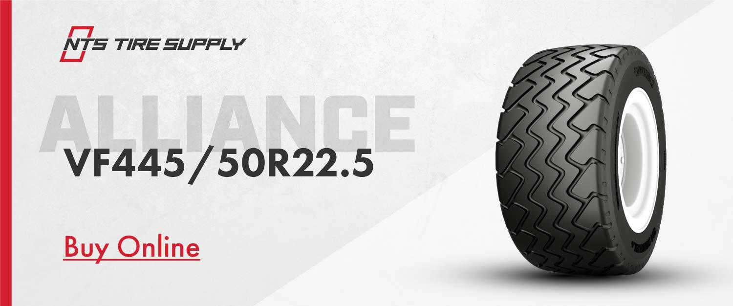 Buy the 445/50R22.5 Alliance 381 Agriflex+ planter tire online at NTS Tire Supply.