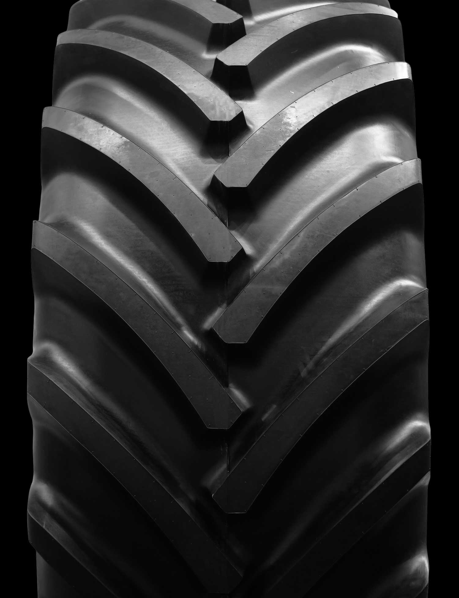 A new tractor tire