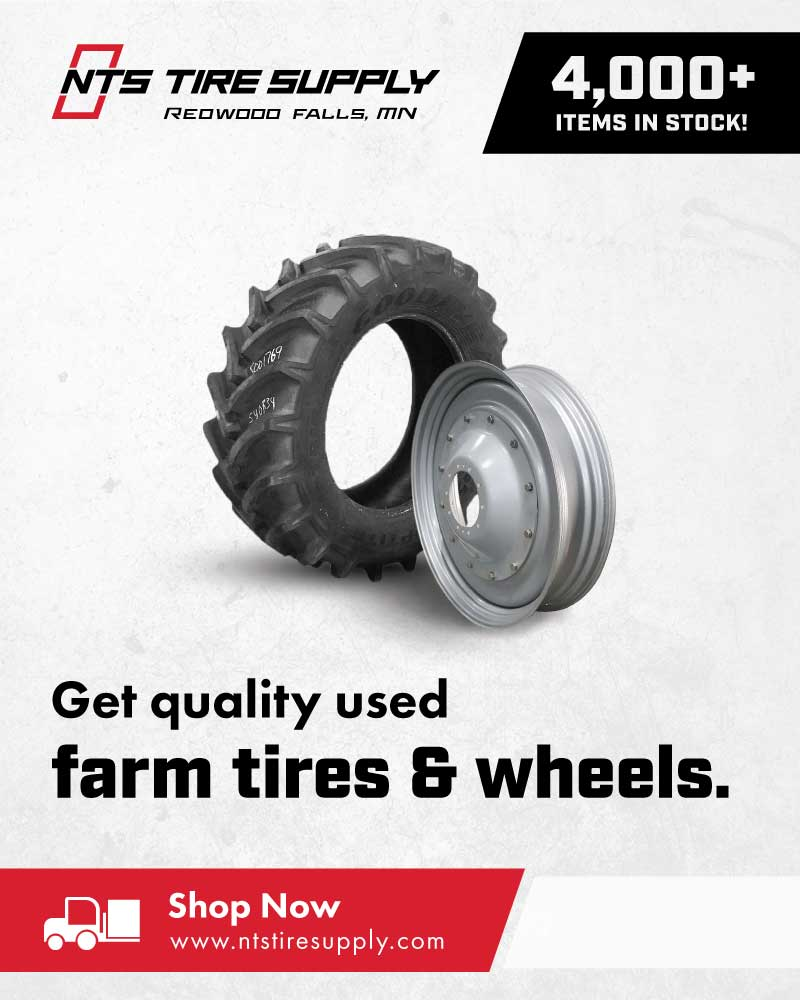 Get quality used farm tires and wheels - Shop now at NTS Tire Supply