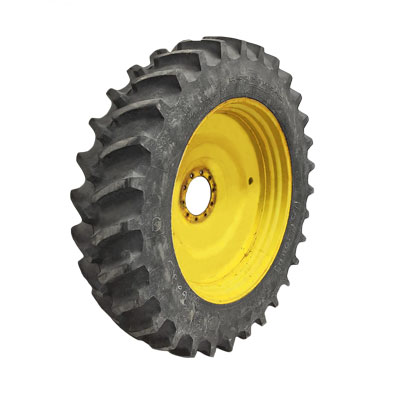 A used Firestone Radial Deep Tread 23° tractor tire for sale