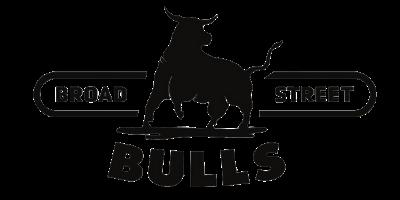 Broad Street Bulls logo.