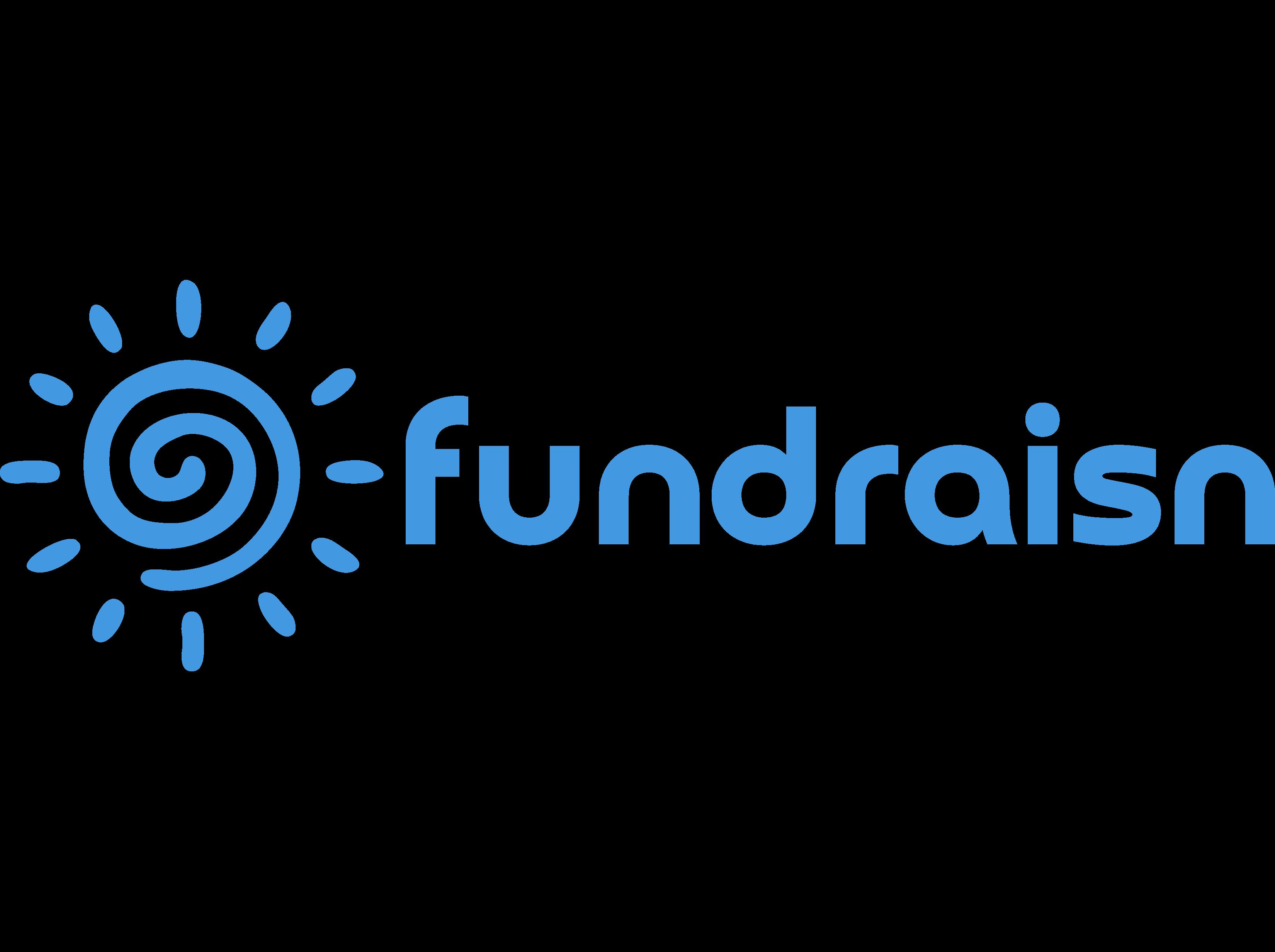 Fundraisin logo.