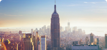 Imagem panorâmica de Nova York