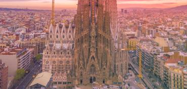 Imagem de uma catedral na Espanha