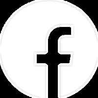Facebook icon in white