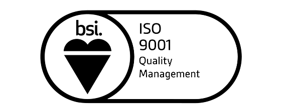 BSI ISO 9001 Quality Management badge