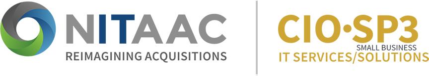 NITAAC CIO-SP3 Small Business badge