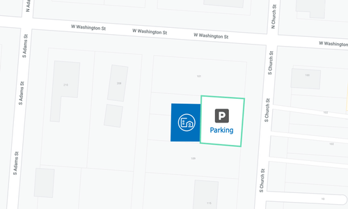 Find ample parking at our location