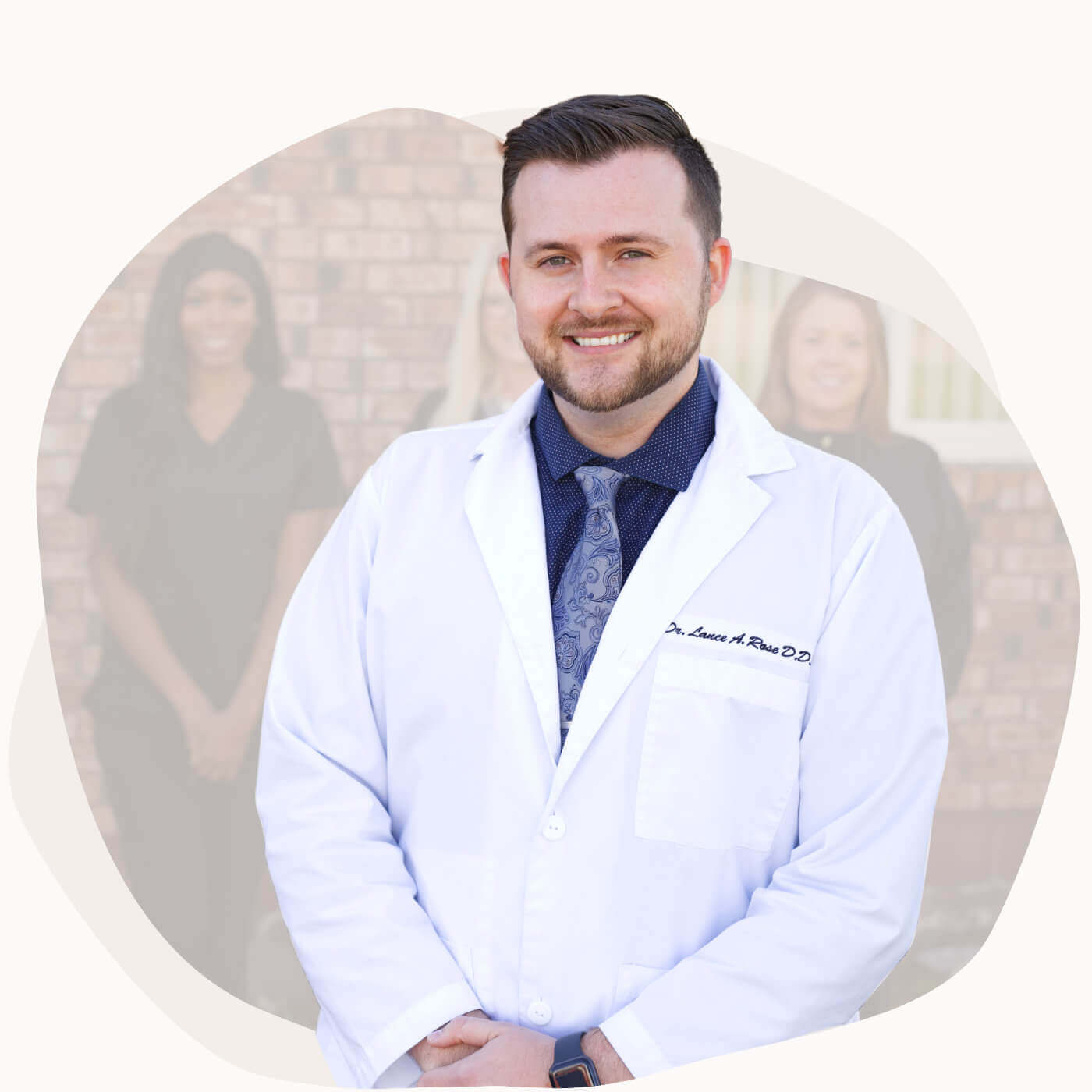 Dr. Lance A. Rose welcoming everyone to Town & Country Dentistry.